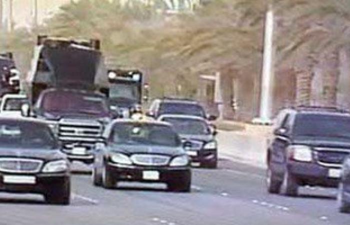 موكب الرئيس السيسى والملك سلمان يغادر مطار القاهرة متوجها إلى قصر الاتحادية