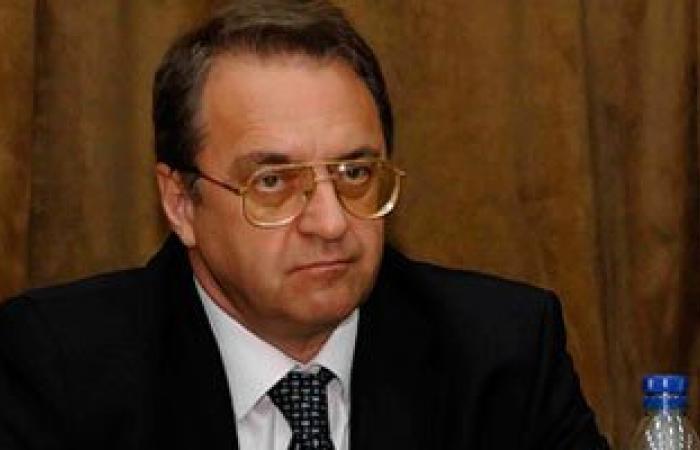 رئيس تيار الغد السورى أحمد الجربا يلتقى مبعوث الرئيس الروسى بالقاهرة