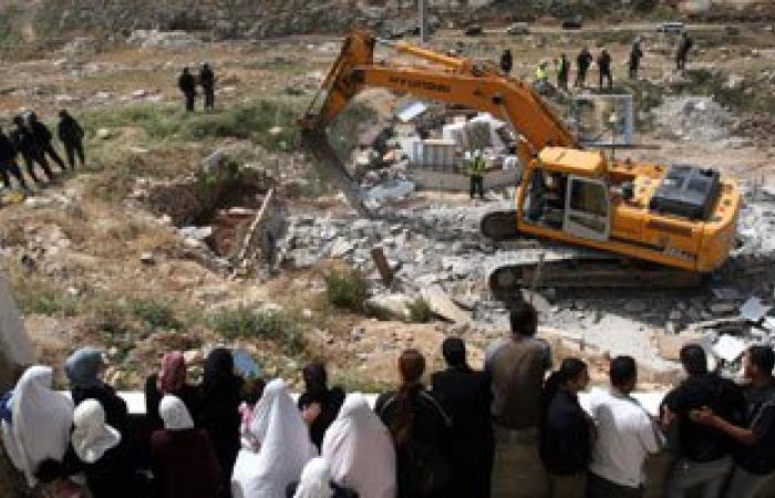 الأمم المتحدة تسجل ارتفاعا فى معدلات هدم مبانى الفلسطينيين بالضفة الغربية