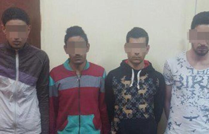 حبس 4 عاطلين لحيازتهم أسلحة نارية وبيضاء فى مشاجرة بعين شمس