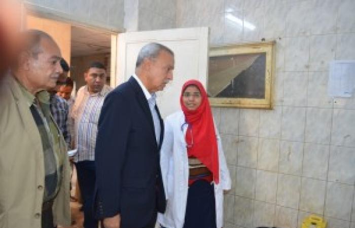 محافظ قنا يحيل 9 أطباء للتحقيق بمستشفى فرشوط المركزي