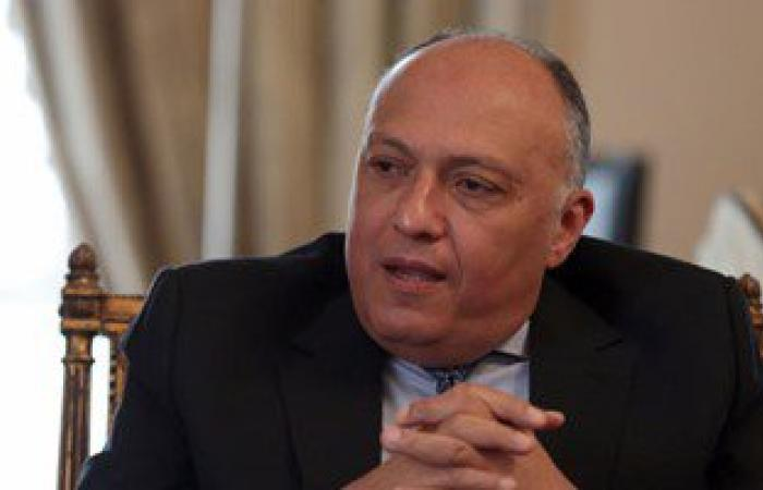 سامح شكرى يلتقى رئيس مجلس النواب الليبى عقيلة صالح اليوم