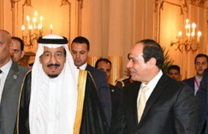 """""""الرئاسة"""": السيسى اصطحب الملك سلمان بجولة فى قصر عابدين وشاهدا حفلا فنيا"""