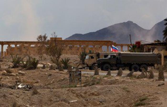 روسيا تبنى قاعدة عسكرية فى موقع أثرى بتدمر السورية