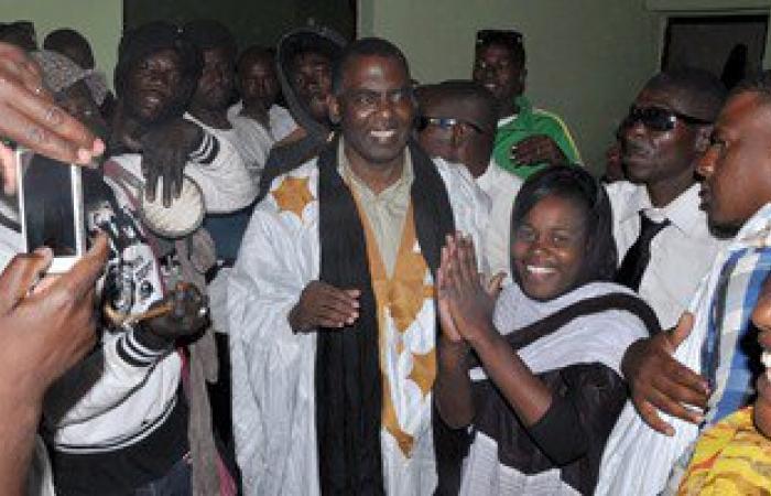 """بالصور.. موريتانيا تفرج عن القيادى بحركة إلغاء الرق """"بيرام ولد الداه"""""""