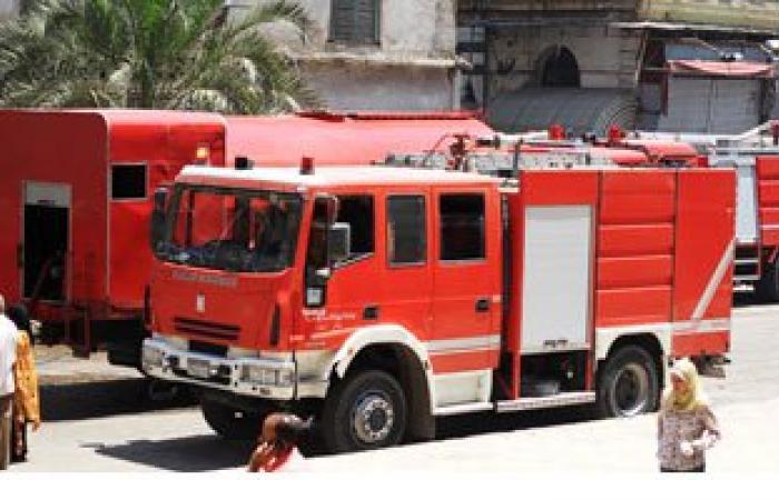 السيطرة على حريق التهم أسطح 6 منازل فى المنشأة بسوهاج