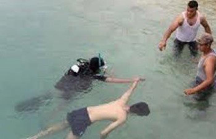 انتشال جثة شاب غرق بالقرب من شاطئ 4 فى الغردقة