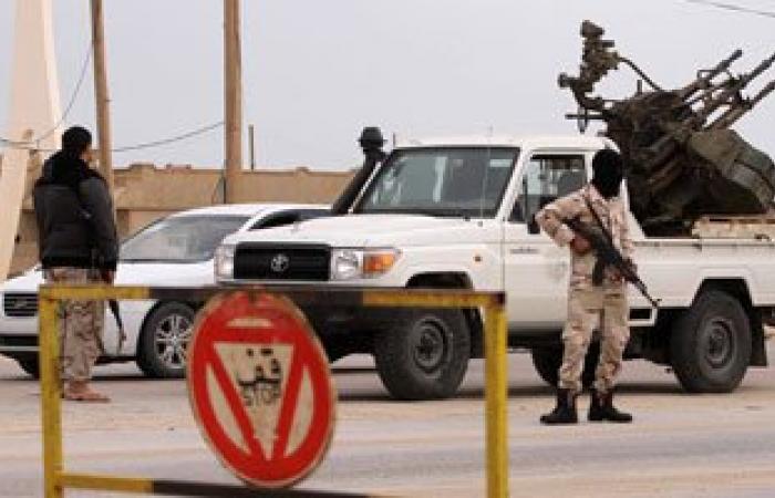 مقتل 7 عناصر من قوات حكومة الوفاق الليبية فى تفجير سيارة مفخخة شرق طرابلس