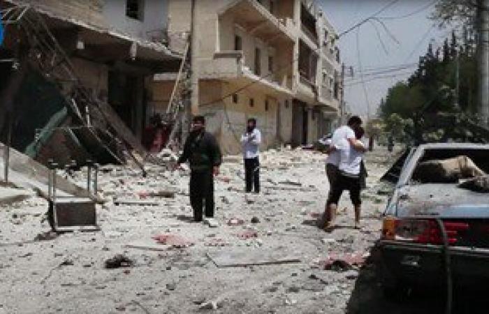 التحالف الدولى يلقى للمرة الأولى منشورات تطالب سكان الرقة السورية مغادرتها