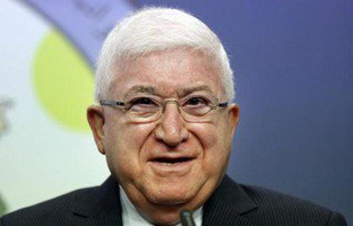 الرئيس العراقى يواصل مشاوراته السياسية فى السليمانية مع مسؤولين أكراد