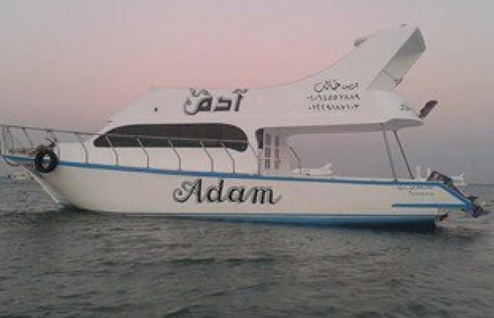 ننشر صور المركب آدم بعد إنقاذ ركابه فى الزعفرانة من الغرق