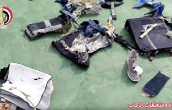 بالفيديو والصور.. آخر تطورات حادث طائرة مصر الطيران المنكوبة