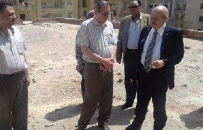 زيارة مفاجئة لرئيس جامعة الزقازيق لأعمال صيانة المركز الثقافى الاجتماعى