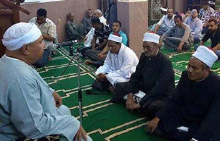 بالصور.. مديرية أوقاف الأقصر تحتفل بليلة النصف من شعبان بمسجد البنا