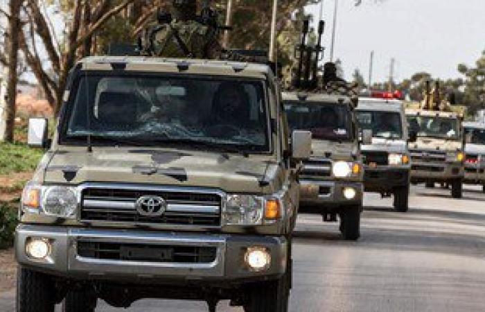مقتل وإصابة 4 من عناصر كتائب مصراتة الليبية فى انفجار لغم أرضى