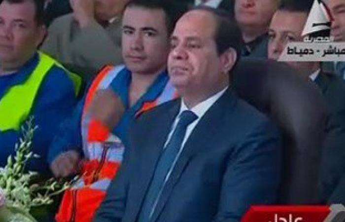 السيسي: غواصة مصرية على عمق 3000 متر لانتشال صندوق الطائرة المنكوبة
