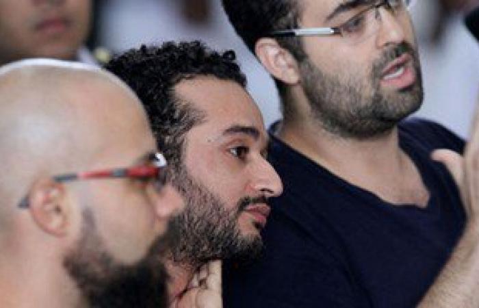 """بالصور.. بدء نظر استئناف """"دومة وماهر"""" ومحمد عادل على حبسهم 6 أشهر للتعدى على ضابط"""