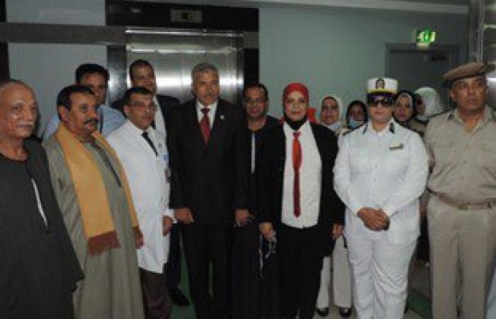 بالصور..مدير أمن الغربية وقيادات المديرية يزورون مستشفى سرطان الأطفال بطنطا