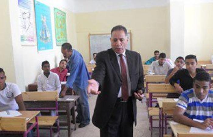 بالصور.. سكرتير عام جنوب سيناء يتفقد لجان امتحانات الدبلومات الفنية