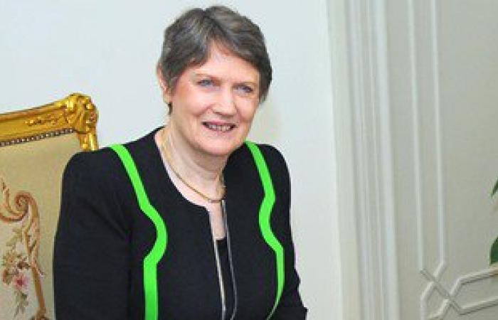 سامح شكرى يستقبل المرشحة النيوزيلندية لمنصب سكرتير عام الأمم المتحدة