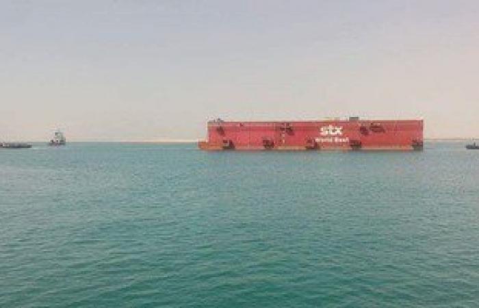 عبور 80 سفينة قناة السويس بحمولة  4.6 مليون طن خلال يومين