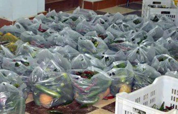 بالصور.. توزيع 40 طنا من محصول مزرعة وادى القويح مجانا لأهالى البحر الأحمر