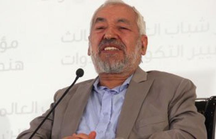 إعادة انتخاب راشد الغنوشى رئيسا لحركة النهضة فى تونس