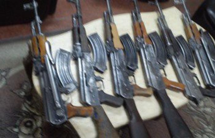 ضبط أسلحة نارية بحوزة فلاح فى أسيوط