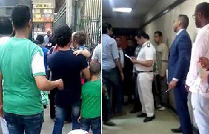 بالفيديو.. عمرو النشرتى ينهى إجراءات إعادة محاكمته وترحيله لحجز قسم العجوزة