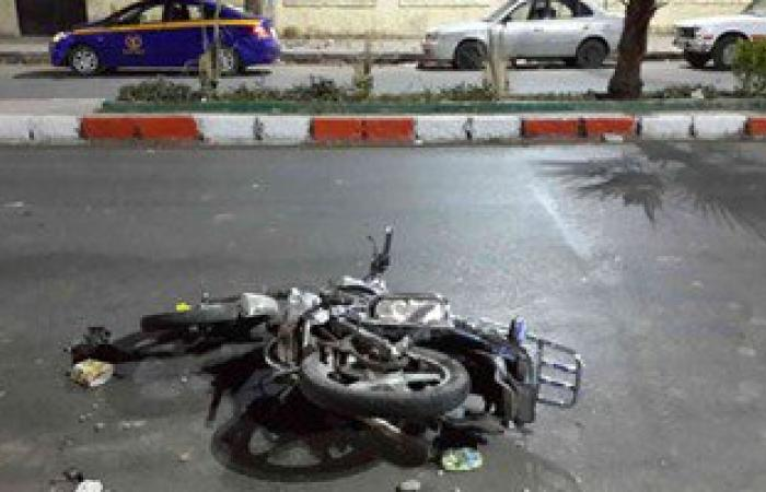 مصرع شخص صدمته مقطورة أثناء استقلاله دراجة بخارية بشارع فيصل