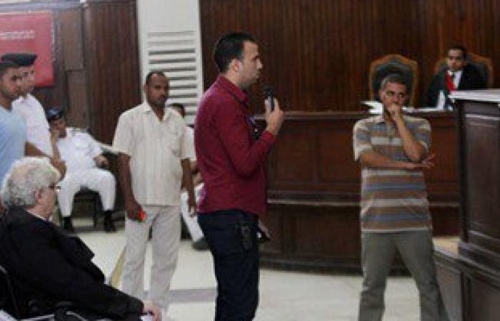 """نظر محاكمة المتهمين بـ""""اقتحام قسم حلوان"""".. اليوم"""