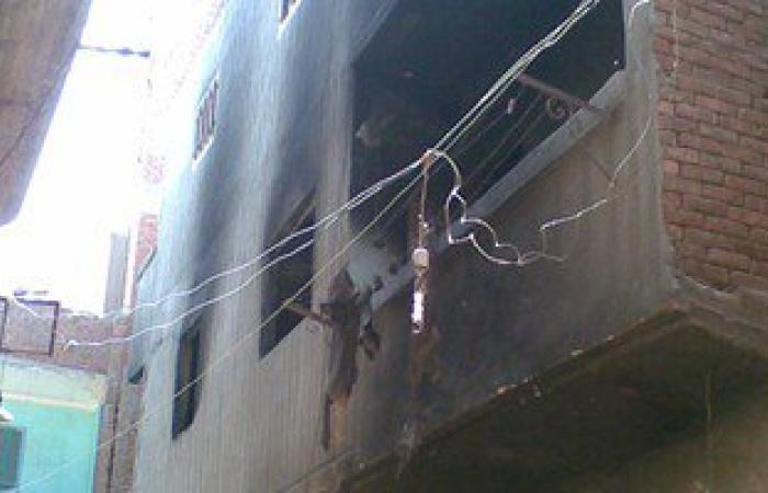 السيطرة على حريق بمنزلين بمركز الغنايم فى أسيوط