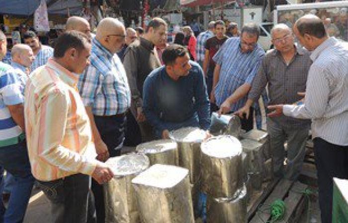 تموين الغربية تضبط زيت حار وطحينة وملح غير صالح للاستهلاك بالمحلة