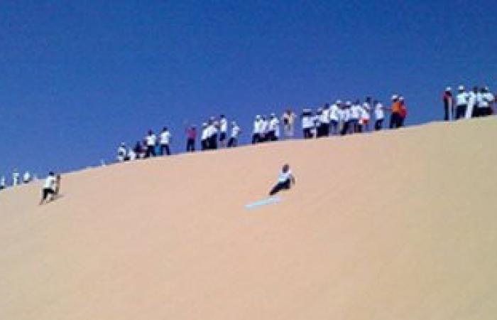 مسابقات أسبوعية للتزلج على الرمال طوال شهر رمضان بالوادى الجديد