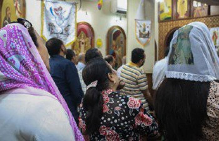 بالصور.. كنائس الإسكندرية تصلى من أجل المتضررين فى أحداث المنيا