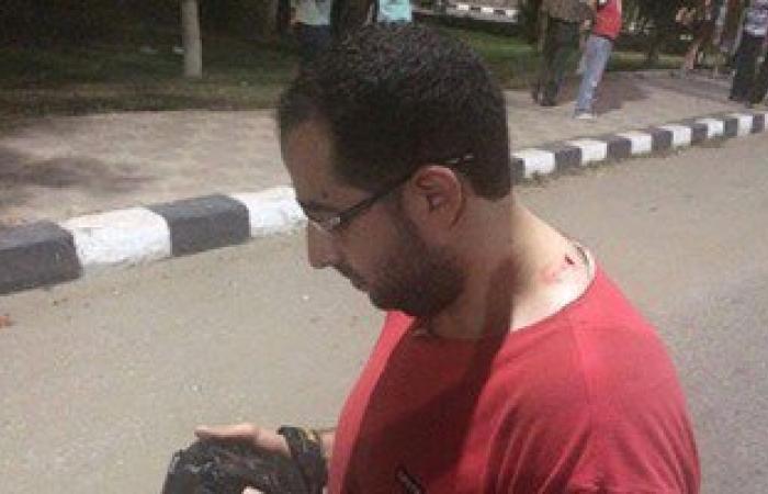 بالصور.. بلطجية يعتدون على صحفيين أثناء تغطية اقتحام نقابة المحامين بطلخا