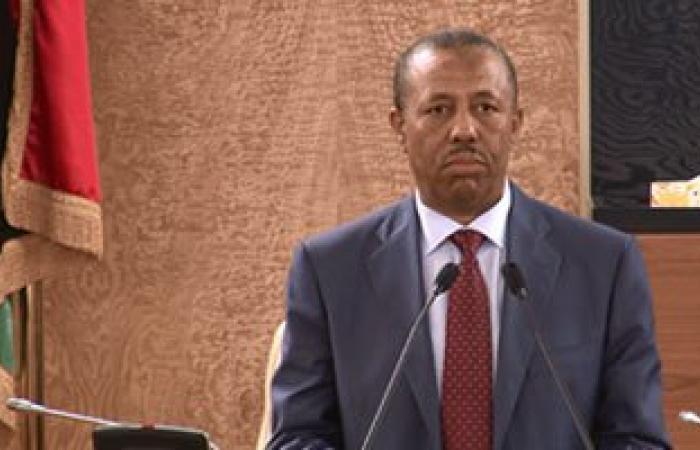 رئيس الحكومة الليبية المؤقتة: نعمل على تحسين الخدمات الضرورية
