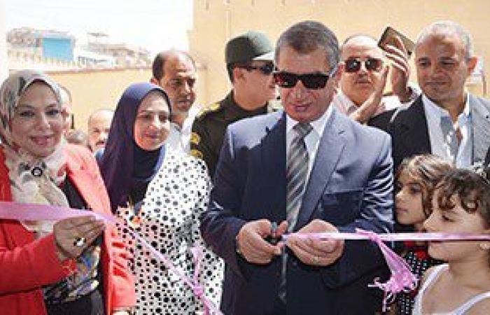 """بالصور والفيديو.. محافظ كفر الشيخ يفتتح مبنى """"التربية والتعليم"""" الجديد"""