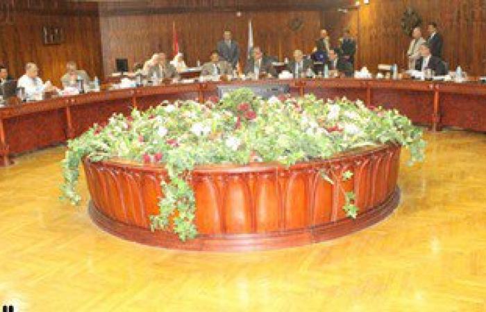 بالصور.. مجلس جامعة طنطا يكرم الحاصلين على جوائز الدولة العلمية