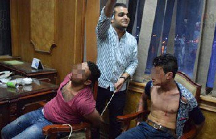 بالصور.. الأمن يلقى القبض على 40 شخصا فى أحداث نقابة محامى طلخا