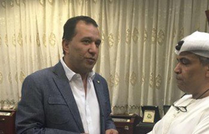 بالصور.. محافظ الأقصر يلتقى مدير الهلال الأحمر الإماراتى لتسلم معونات رمضان