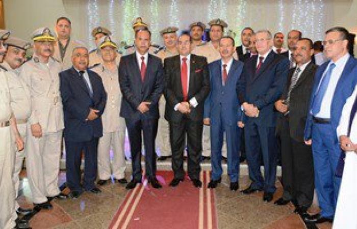 بالصور.. محافظ سوهاج يشهد حفل افتتاح تطوير نادى تجديف الشرطة