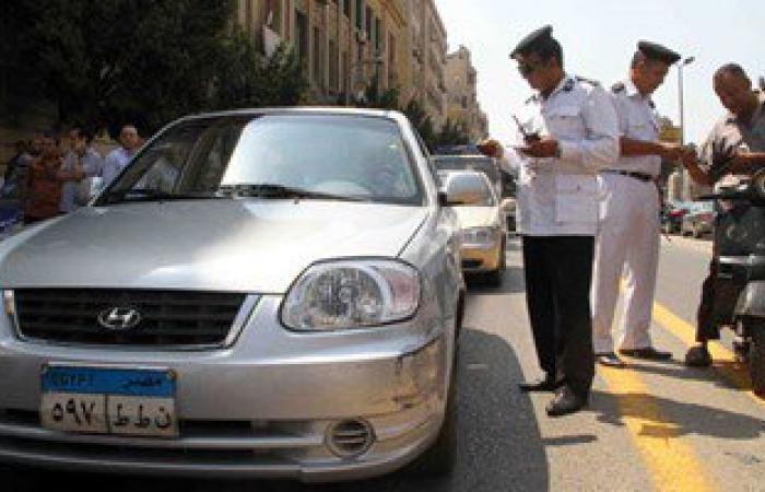 ضبط 423 مخالفة وتحصيل 8800 جنيه غرامات فورية خلال حملات مرورية بمطروح