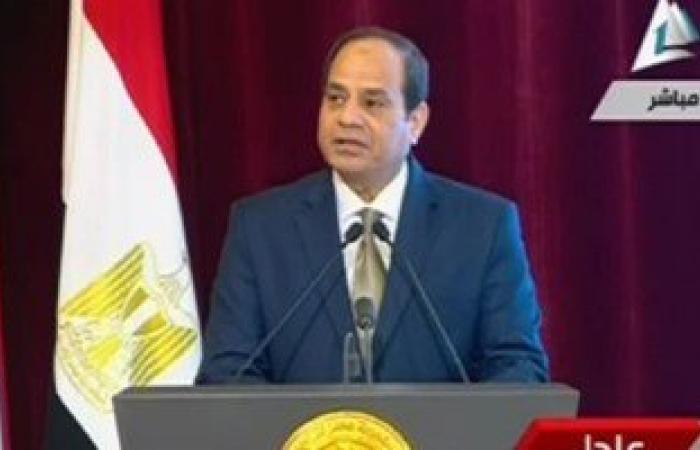 الرئيس السيسي: حققنا نمو بمعدل 4.2% ونستهدف تحقيق 6% العام المقبل