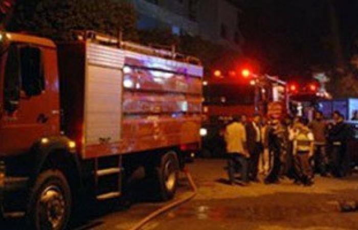 حريق يلتهم 8 منازل بالعسيرات جنوب سوهاج