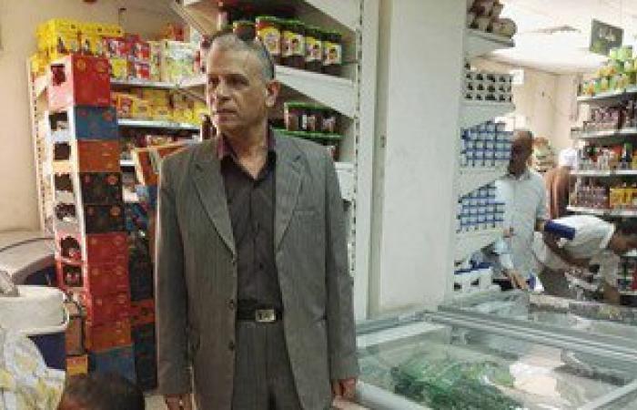 """بالصور.. وكيل تموين الأقصر يتفقد فروع """"الشركة المصرية"""" للتأكد من توافر سلع رمضان"""