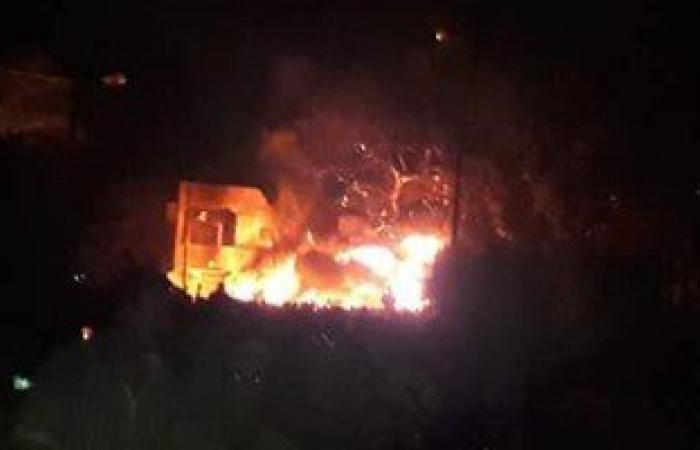 مصدر أمنى: حريق مدينة السينما بدأ فى ظهر سينما رادوبيس بشارع الهرم