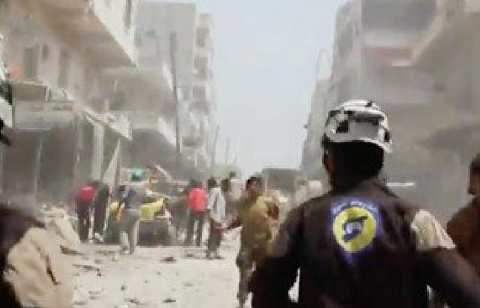 مقتل 10 مدنيين فى غارة استهدفت حافلة ركاب على طريق الكاستيلو قرب حلب