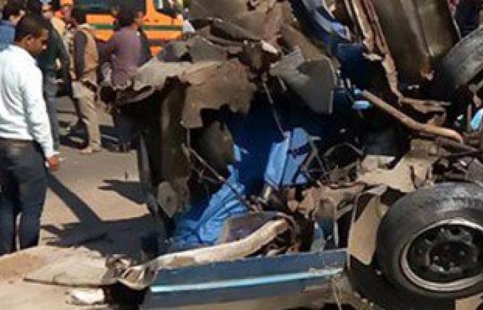 مصرع شخص وإصابة 21 آخرين فى 3 حوادث تصادم بطريق السويس