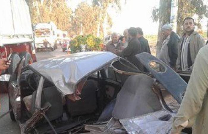 ننشر أسماء الضحايا والمصابين فى حادث انقلاب سيارة على صحراوى قنا